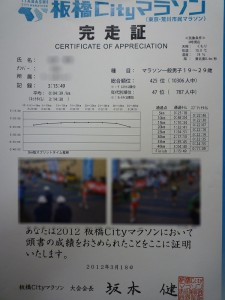板橋Cityマラソン