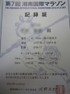 第7回湘南国際マラソン
