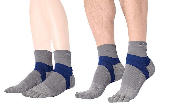 【Run用オススメ靴下】5本指で寿命が長い男女兼用のソックス