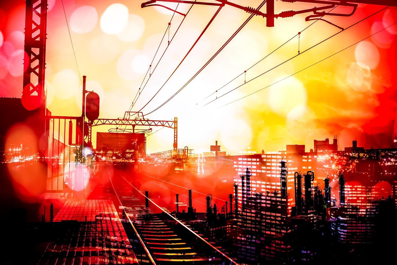 いつもは電車だけど、2つ分の駅を走ってみたら、意外と近かった