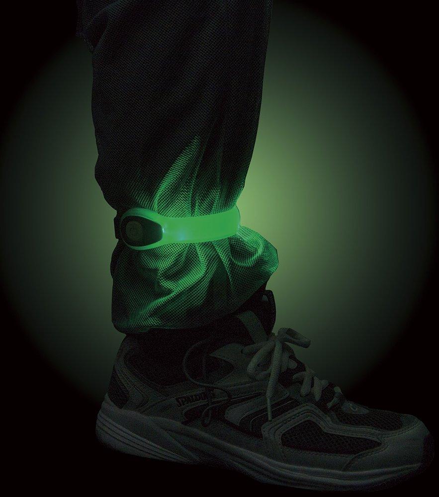 足首につけるランニング用ライト