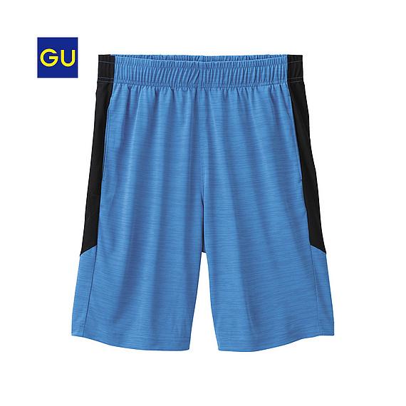 (GU)スポーツハーフパンツ(カラーブロック)A
