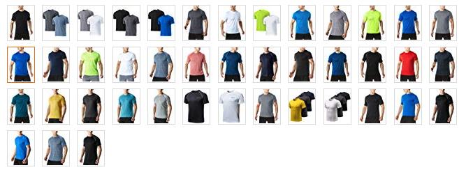 ランニング用Tシャツに最適!カラーバリエーションが豊富
