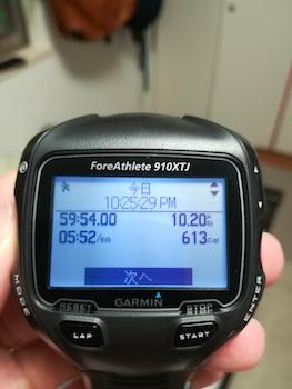 ランニング 記録 10km