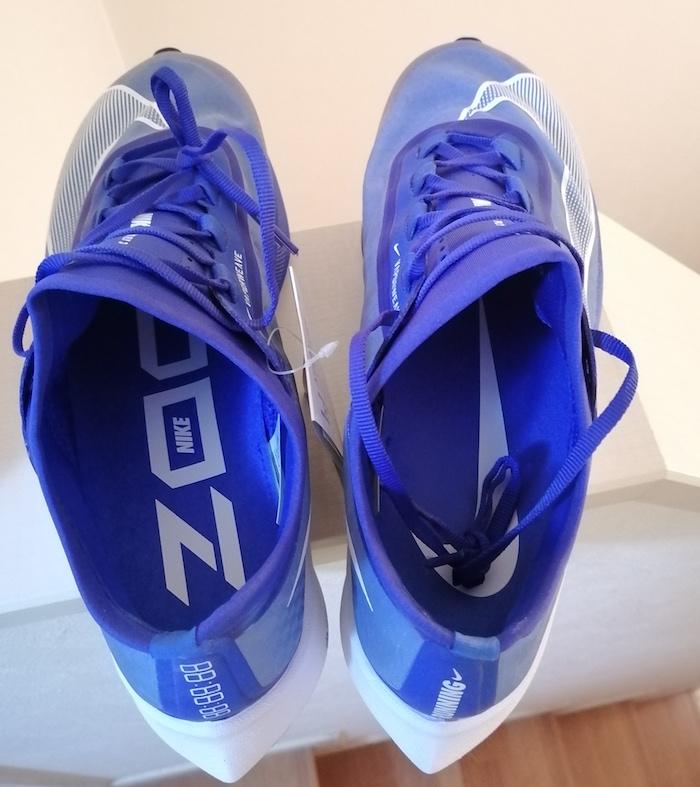 ズームフライ3(厚底ランニングシューズ)靴底