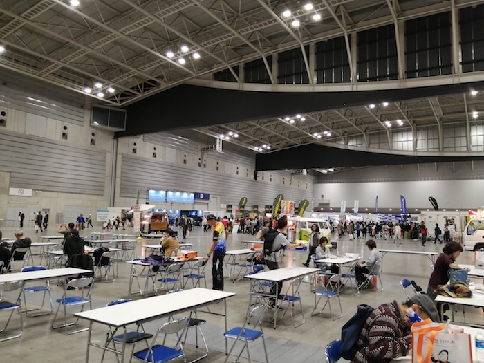 横浜マラソン 前日エントリー会場風景2