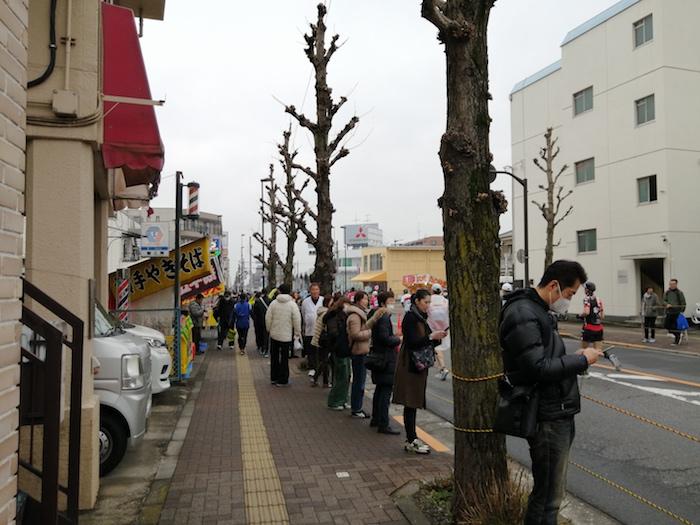 青梅マラソン_沿道